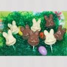 Chocolate Bunny Suckers