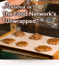 Featured in The Food Network's Unwrapped