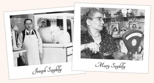 Joe & Grandma Sayklly