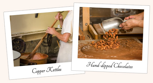 Copper Kettles & Hand-dipped chocolates