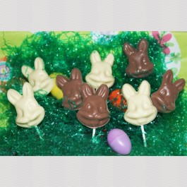 Chocolate Bunny Suckers